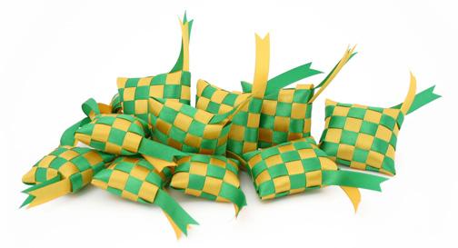 Christmas decoration ideas for windows - Ketupat The Most Synonymous Symbol With Hari Raya Festival